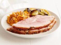 Brandy Peppercorn Honey Glazed Ham : Reduced brandy, honey and peppercorns make the perfect glaze for this easy ham.