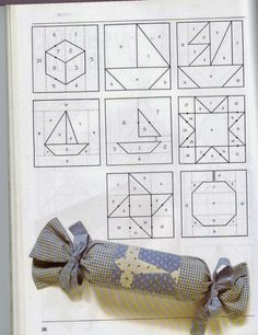 Cursos y tutoriales para manualidades: Curso de Patchwork Christmas Quilt Patterns, Barn Quilt Patterns, Paper Piecing Patterns, Patchwork Patterns, Crazy Quilting, Crazy Patchwork, Patch Quilt, Quilt Blocks, Tutorial Patchwork