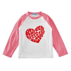Baby Casual Tees Spring Autumn Kids Tops T-shirt Boy Girl T Shirt Cotton Long Sleeve Heart Print #Affiliate
