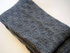 Ravelry: Slip Stitch Basket Weave Scarf pattern by Lynn Sibley