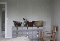 A Stylist's Island Nest in the Stockholm Archipelago Stockholm Archipelago, Small Drawers, Getting Organized, Interior Inspiration, Ladder Decor, Diy Projects, Interior Design, Storage, Furniture