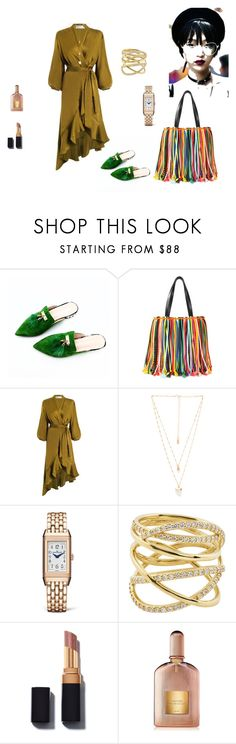 """""""greenery"""" by cristina-2017 ❤ liked on Polyvore featuring Emilio Pucci, Zimmermann, Natalie B, Jaeger-LeCoultre, Lana and Tom Ford"""