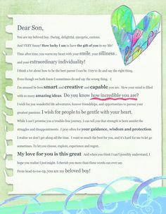 Dear Son Letter (Digital Download)