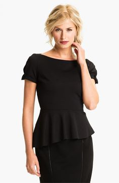 Elie Tahari Exclusive for Nordstrom 'Gabby' Top available at #Nordstrom