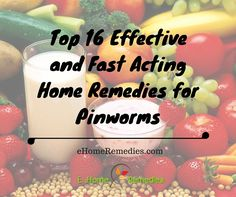 There are several home remedies for pinworms that offer relief and even inhibit the spread of this parasite.