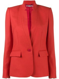 Stella McCartney Wool Collarless blazer