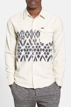 Volcom | 'Giza' Print Flannel Shirt