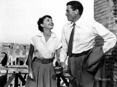 Roman Holiday, Audrey Hepburn, Gregory Peck, 1953 Photo at AllPosters.com