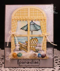 WT380 Ocean Paradise by cathymac - Cards and Paper Crafts at Splitcoaststampers
