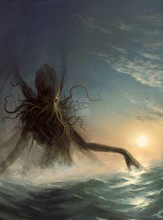 Awakening of Cthulhu by Obrotowy.deviantart.com on @deviantART http://aeonith.webs.com/