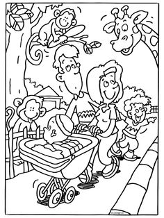 Free Printable Zoo Coloring Pages For Kids | Pinterest | Zoos ...