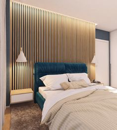 Moderrn apartment in Comfort Town on Behance Modern Luxury Bedroom, Luxurious Bedrooms, Home Decor Bedroom, Master Bedroom, Bedroom Ideas, Bed Design, House Design, Best Interior, Interior Design