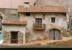 17 Best images about pesebres on Clay Houses, Ceramic Houses, Miniature Houses, Pottery Houses, Christmas Nativity Scene, Free To Use Images, Fairy Houses, Small World, Little Houses