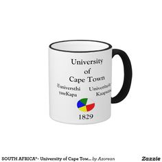 SOUTH AFRICA*- University of Cape Town Mug