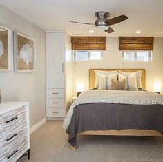 Pacific Beach House contemporary bedroom | dresser