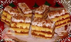 Havasi gyopár Hungarian Desserts, Hungarian Recipes, My Recipes, Cake Recipes, Cooking Recipes, Torte Cake, Sweet Life, Bakery, Food And Drink