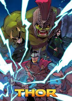 Thor by Liu Naizhong Thor 1, Loki Marvel, Marvel Fan, Marvel Heroes, Marvel Characters, Marvel Movies, Avengers, Comics Universe, Marvel Cinematic Universe