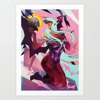 Art Print featuring Succubus by Charlo Nocete