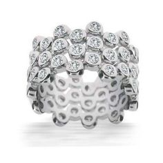 Stackable bubble ring