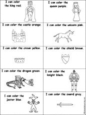 kings and castles printables and activities