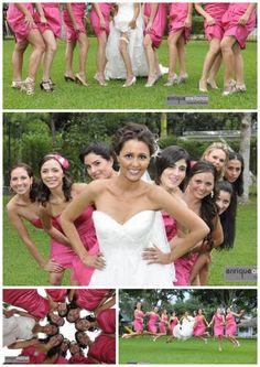 Vestido de las damas de honor de una boda. Foto: Enrique Arellanos