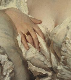 Details of Portraits by Franz Xaver Winterhalter