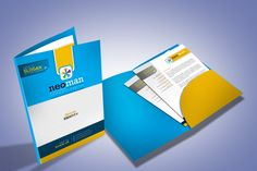 Ad: Corporate Presentation Folder Design by ContestDesign on This is a simple unique creative and dynamic presentation folder template will deliver professionalis, stylish and confidence to your Custom Presentation Folders, Design Presentation, Corporate Presentation, Corporate Design, Stationery Templates, Print Templates, Design Templates, Folder Template, Design Brochure