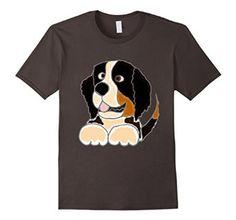 Amazon.com: Smiletodaytees Bernese Mountain Dog T-shirt: Clothing