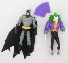 The Batman 2004 Animated - Batman, Joker action figure lot cartoon EXP