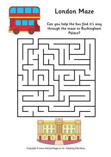 London maze - easy