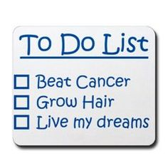 Post Cancer Treatment Checklist