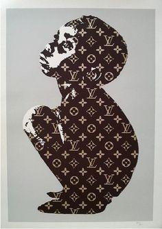 Beejoir | LV Child | Fierce Gallery. #beejoir http://www.widewalls.ch/artist/beejoir/