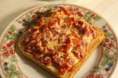 Pizza Snacks, Pizza Recipes, Crockpot Recipes, French Bread Pizza, French Dip, French Toast, Cheese Toast, Breakfast Recipes, Food And Drink