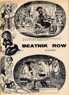 Beatnik Row super cute illustrations