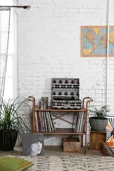 4040 Locust Rustic Metal Console - Urban Outfitters