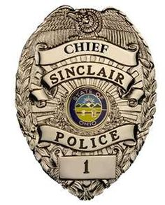 Sinclair Ohio police badge