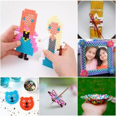 20 of the coolest ideas for Hama Perler Bead crafting | MollyMooCrafts.com for @Spoonful
