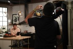 Nate Berkus gives our fans some much needed kitchen design advice in New York. #LGStudio