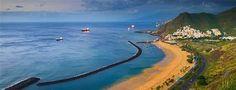 Playa de Las Teresitas at San Andrés, Canary Islands, Spain