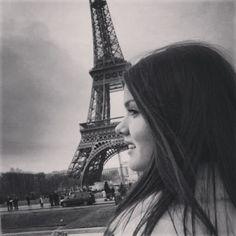 #Paris #France #europe #girl #p&b #travel #winter