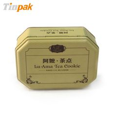 With size of 182x132x63mmH, the cheap cookie tins are particularly suitable for packing cookies, cakes, chocolates and so on.  http://www.tinpak.us/Products/customprintedcookietins.html