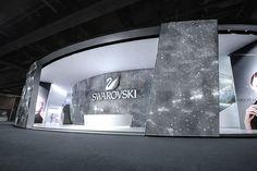 dezain.net • 吉岡徳仁によるBASELWORLD 2013でのスワロフスキーのスタンドデザイン「Wings of Sparkle」の写真と動画
