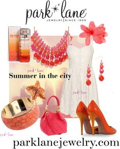 """Summer in the City"" by parklanejewelry on Polyvore  Get this bling! Visit www.jennsblingthing.com"