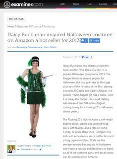 Daisy Buchanan inspired Halloween costume hot this year!