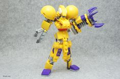 MIXIES MAX Robot   by nobu_tary