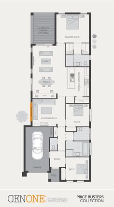 McDonald Jones Homes -Douglas Collection - Floorplan #Floorplans #luxuryhome