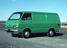 The once common now rare Mk2 Toyota HiAce