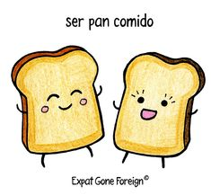 Spanish food idioms. ¡Que aproveche! ~ #Spanish #Food #Idioms #Phraseology #Fraseología #Locuciones #Expresiones #Idiomáticas #Comic #Language #español #Humor #Linguistics Fruit Names, Fight Or Flight Response, Custard Desserts, Spanish Food, How To Speak Spanish, Piece Of Cakes, Idioms, Democratic Party, Ancient Greece