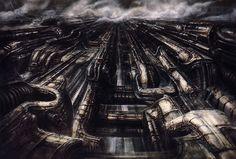 Hans Rüdi Giger: Biomechanical Landscape X
