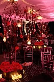 We created 15 of these using hot pink mini gerberas, and hot pink roses. We also added crystals, and lanterns with votives to the branches, along with a dozen square votives on the tables at Cairnwood. Manzanita Tree Centerpieces, Manzanita Branches, Hot Pink Flowers, Birthday Party Centerpieces, Hanging Candles, Pink Hydrangea, Spray Roses, Wedding Decorations, Wedding Ideas